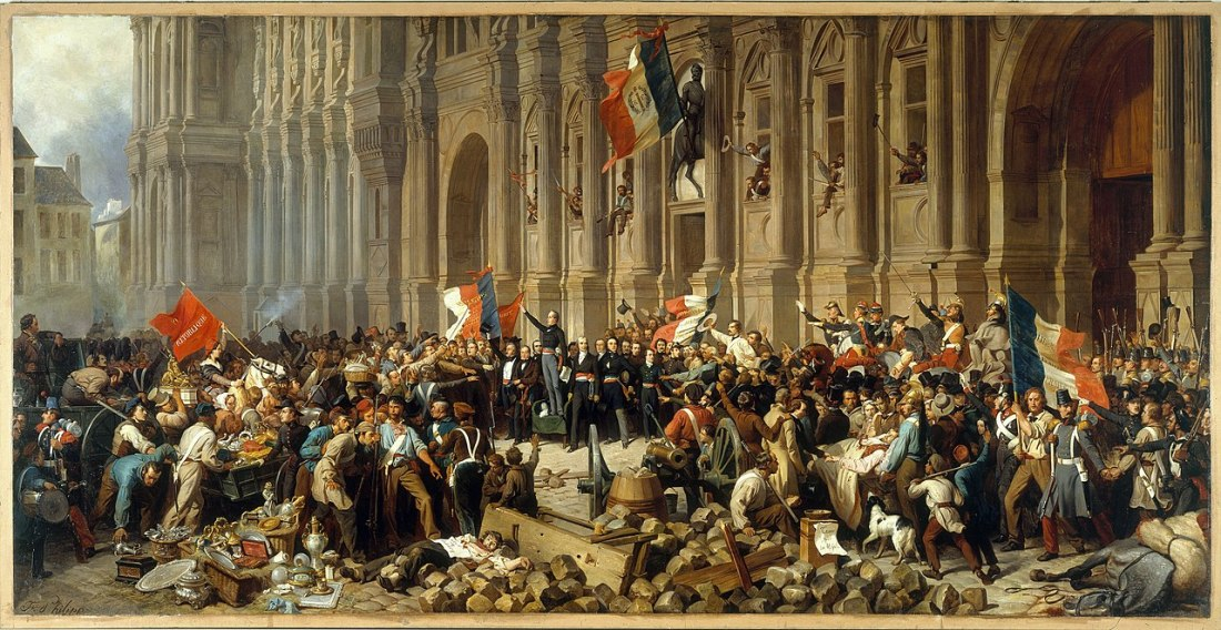 Lamartine and the red flag